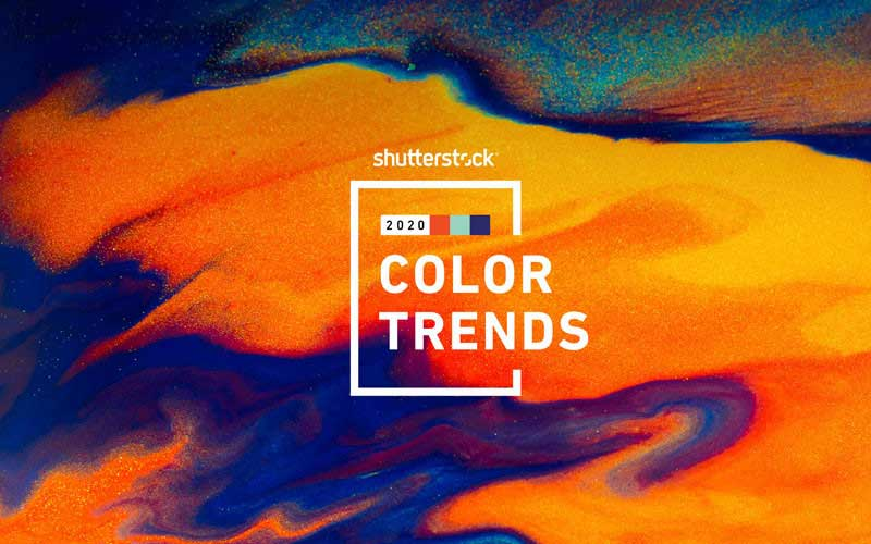2020 Color Trends From Shutterstock