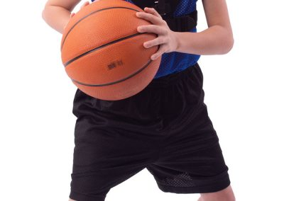 Photography gallery: child wearing basketball trainer
