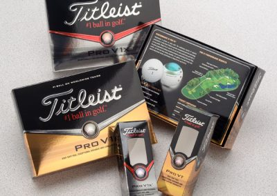 Photography gallery: golf ball packaging
