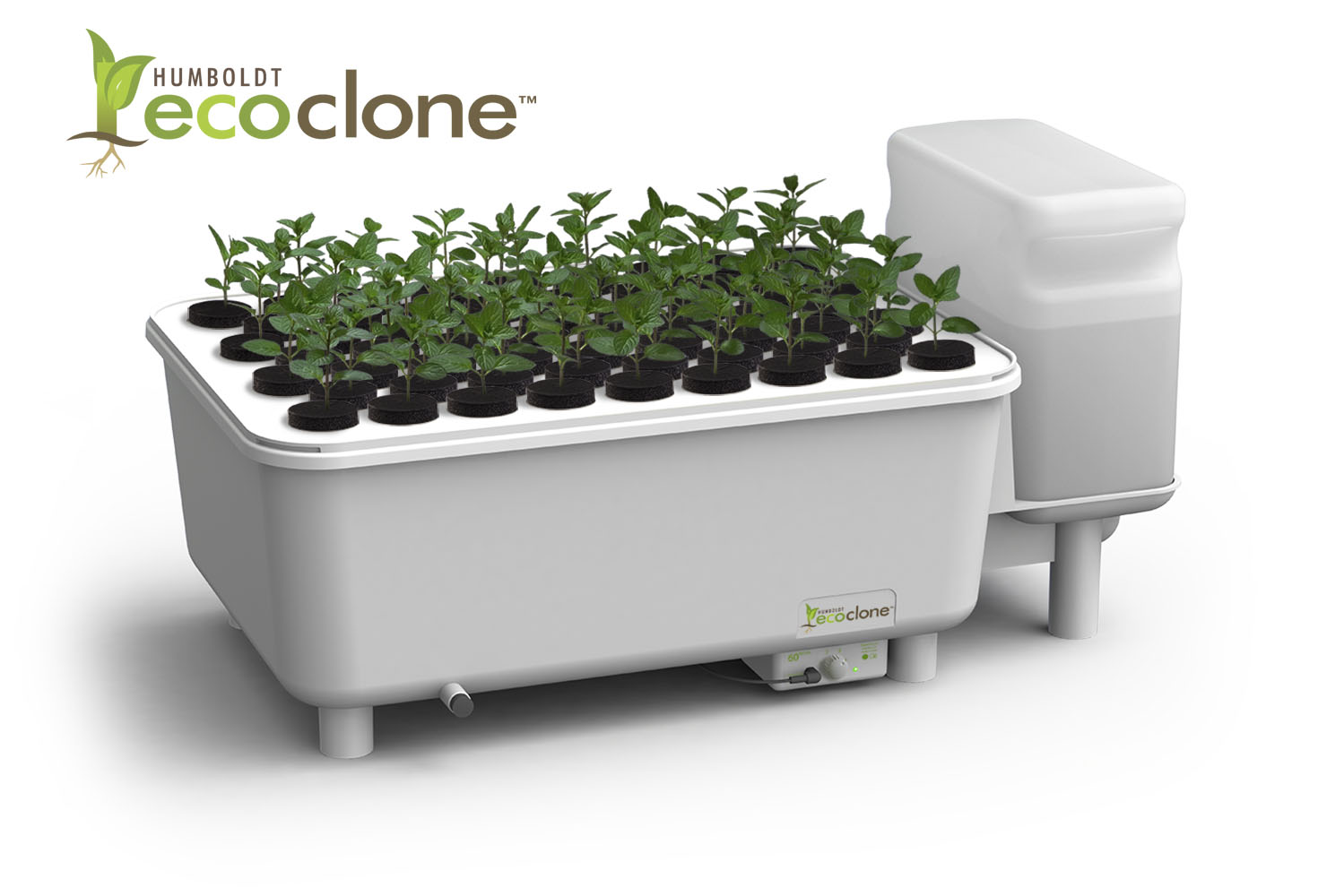 The Humboldt-Ecoclone ultrasonic fog plant propagation system.