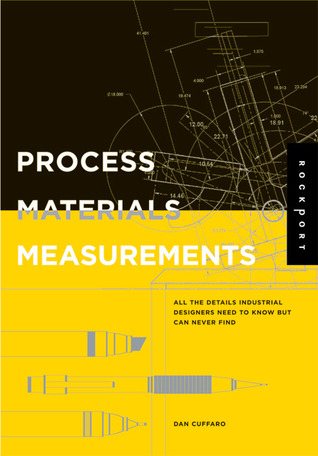 Book cover of Process, Materials, and Measurements - a reference book for industrial designers.