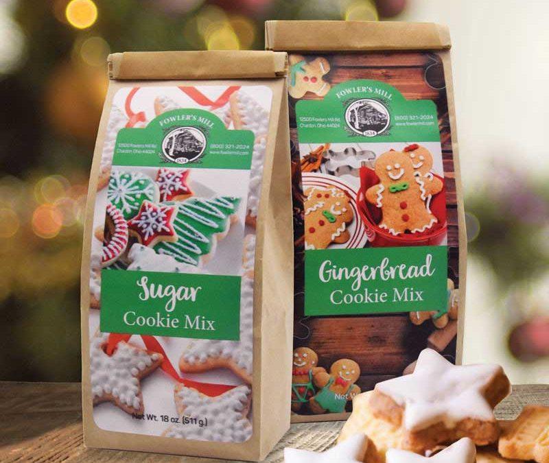 Label Design—Christmas Cookies In July!