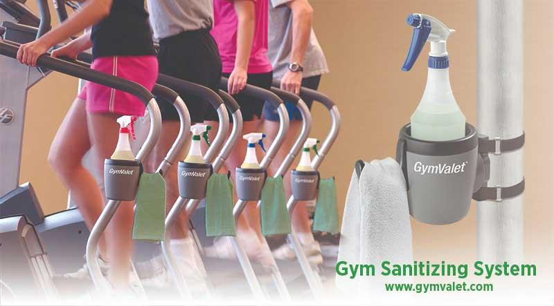 GymValet: Gym Sanitizing System