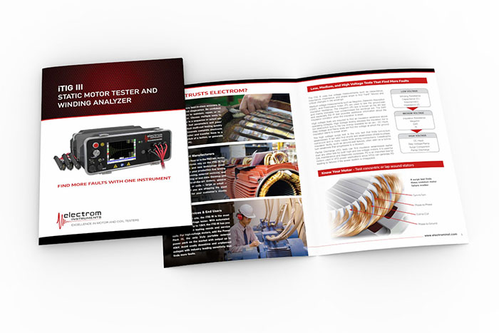 Brochures feature your product, service, or organization.
