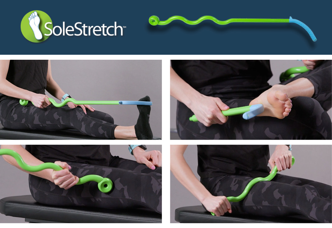 SoleStretch mdeical device for treating plantar fasciitis