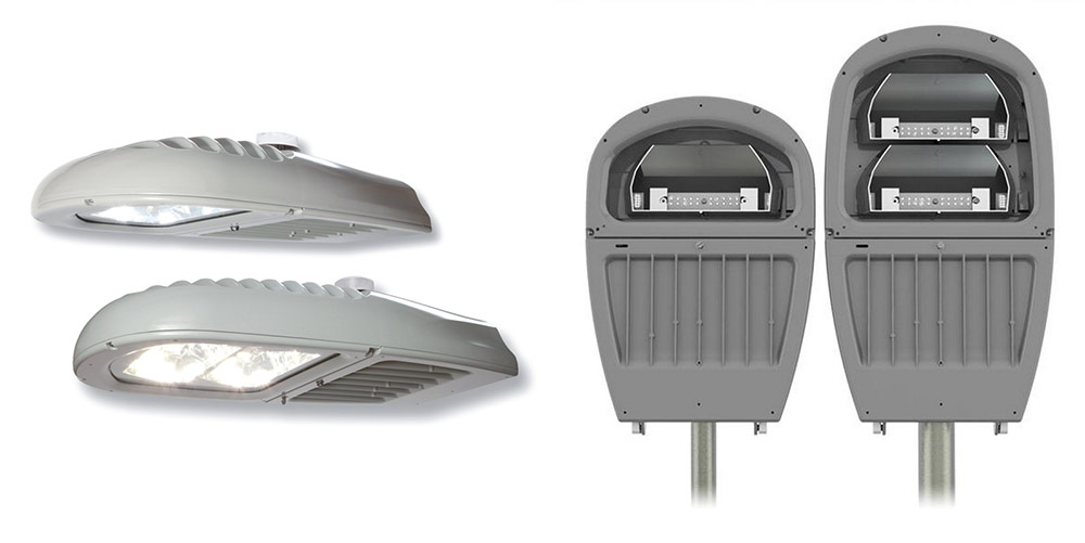 GE Roadway Streetlight design with the help of Design Interface Inc.